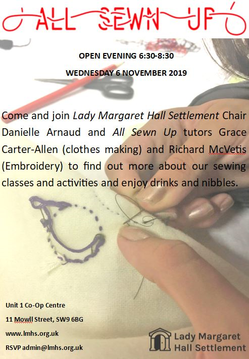 OPEN EVENING Wednesday 6 November 2019, 6.30-8.30pm
