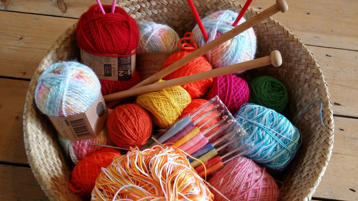 New! Knitting & Crochet for Peace & Relaxation